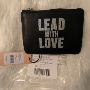 Rebecca Minkoff Betty Lead With Love Pouch NWT